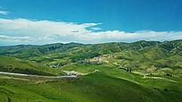 美丽的新疆喀拉峻大草原