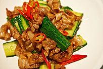 青瓜小炒肉