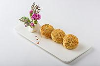 芝麻香酥饼