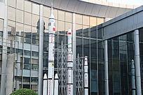 中国航天火箭模型