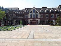 广场 建筑 欧式风格