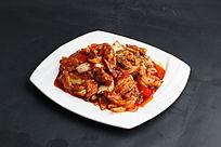 韩式辣白菜炒五花肉