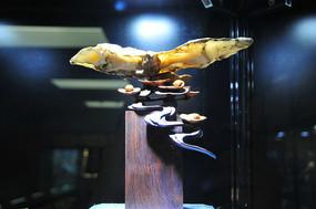 奇石大鹏展翅