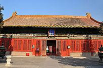 北京故宫文华殿建筑