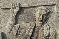 大理石人像雕刻图案