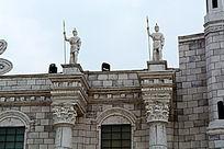 欧式雕塑建筑