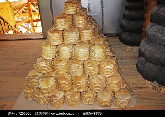 普洱茶茶饼包装图片