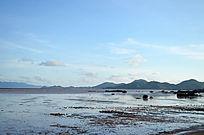 壮丽的海滩自然风光图片