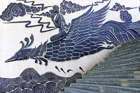凤凰鸟壁画