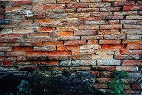 红砖墙背景