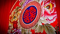 中式婚礼布置