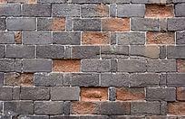 陈旧的青砖墙