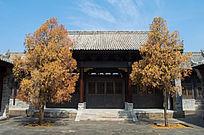 关中庭院建筑风格