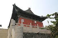 古代建筑神农伏羲台