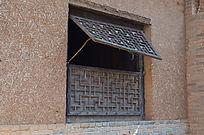 农家木窗户
