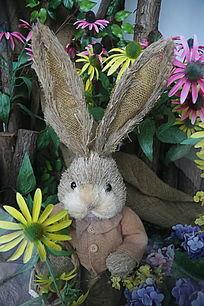 小兔子造型