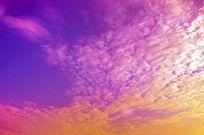 彩色的天空图片