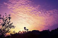 彩色的天空云云彩