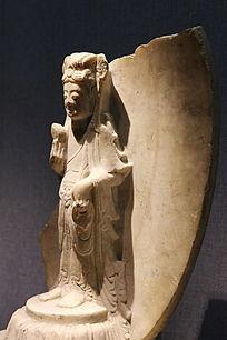 东魏修德寺的观世音菩萨立像