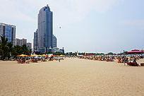 海岸建筑风景