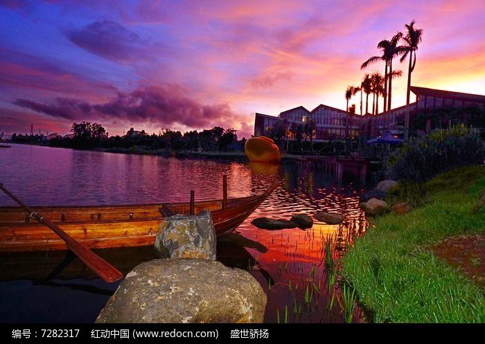 湖泊会所建筑图片
