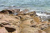 大海边的石头