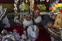 各种小动物贝壳手工艺品