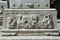 古代石刻浮雕麒麟