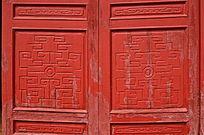 古典门雕刻图案