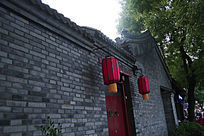 古典墙风景