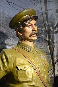 苏联军官雕塑