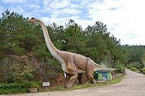 爱丽丝庄园的欢迎腕龙恐龙