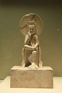 北齐思维菩萨像