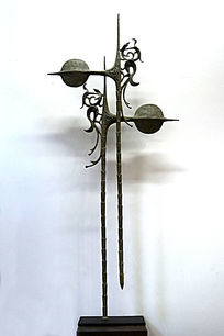 雕塑凤图腾