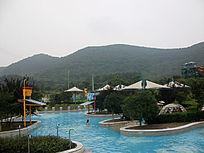 青山海浴游泳池