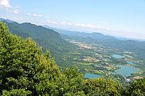 山峰山脉风光图片