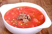 西红柿煮牛腩