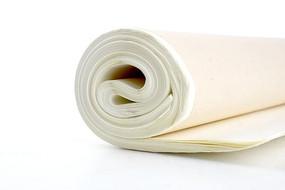 一卷洁白的宣纸