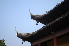 夫子庙内古建筑飞檐
