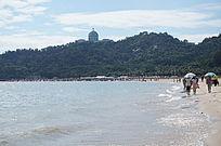 高山大海风景图片