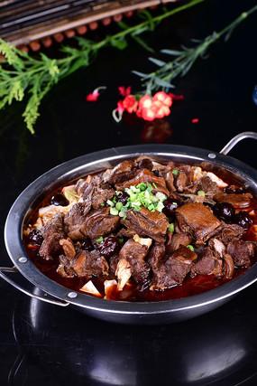 红烧羊肉锅