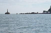 珠海渔女风景图片