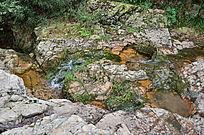 自然风景石头溪流山泉水素材