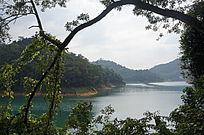 湖泊水库风光图片