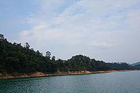 蓝天白云山水风光图片