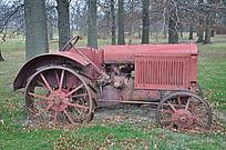 树林旧机械