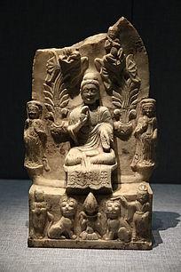 北齐三尊像