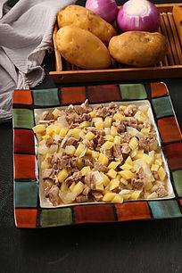 哈萨炖土豆