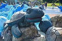 乌龟雕刻艺术图片
