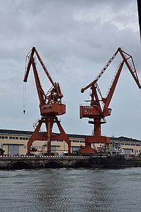 码头塔吊重工机械